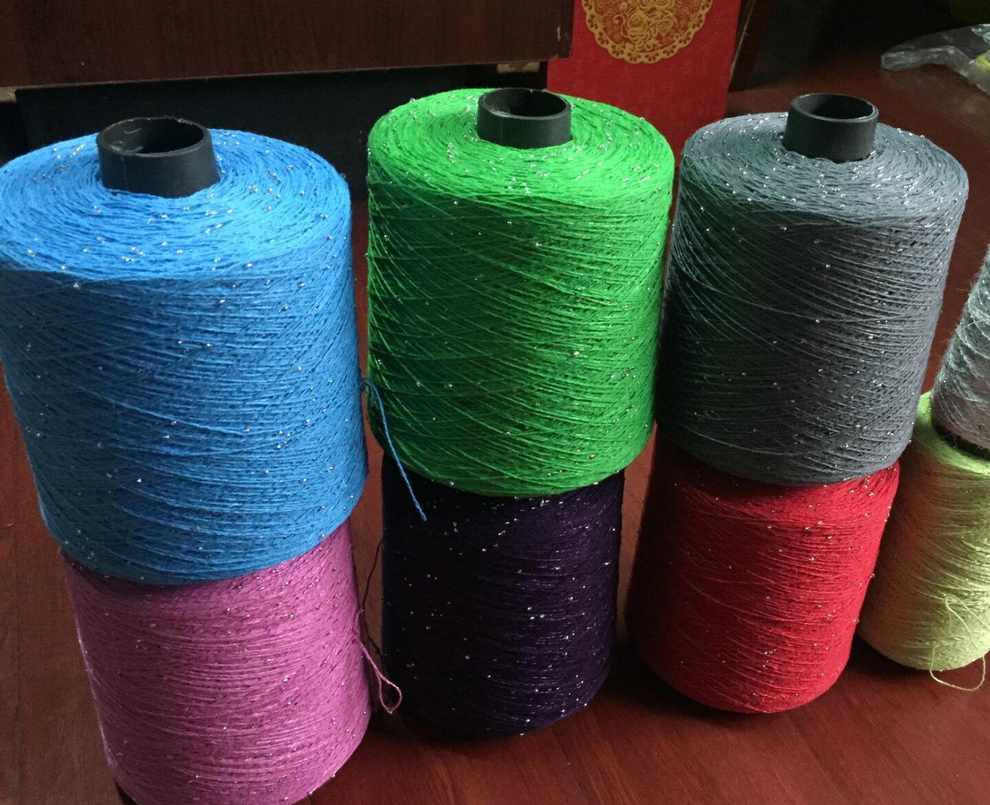 Cotton bead yarn